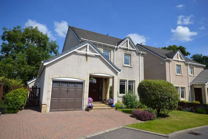 5 Bedrooms Detached House for sale in Millhill Crescent, Dunblane, Greenloaning, FK15