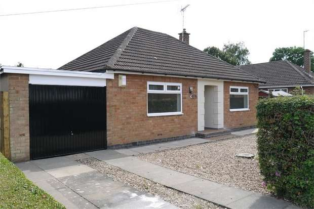 2 Bedrooms Detached Bungalow for sale in Western Avenue, Market Harborough, Leicestershire