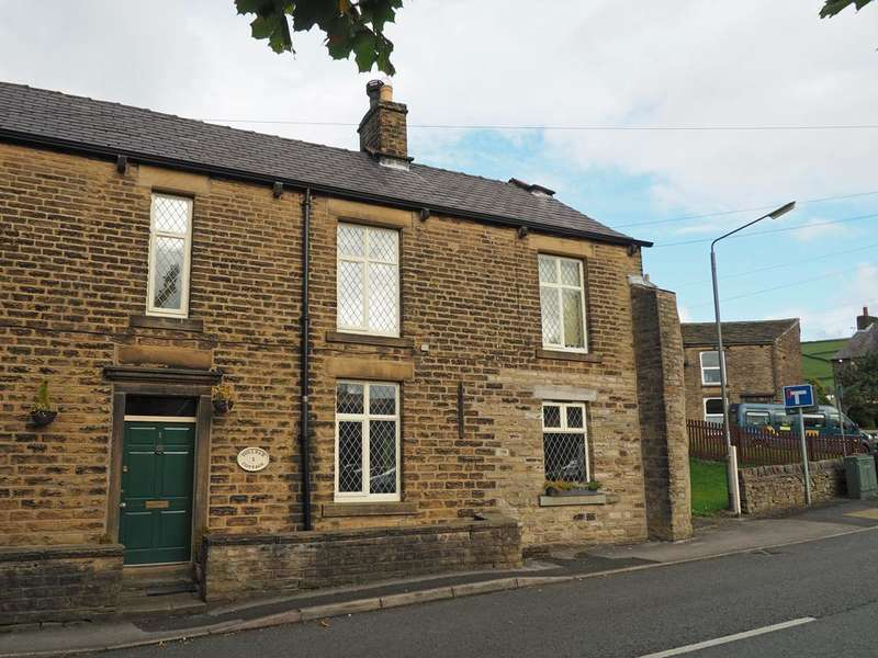 3 Bedrooms Semi Detached House for sale in Swallow House Lane, Hayfield, High Peak, Derbyshire, SK22 2HF