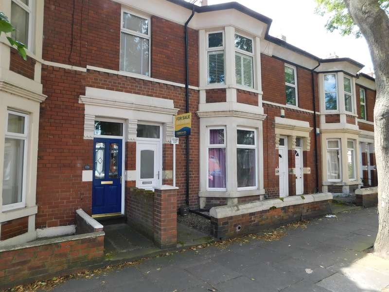 2 Bedrooms Ground Flat for sale in Queen Alexandra Road, North Shields, NE29 9AP
