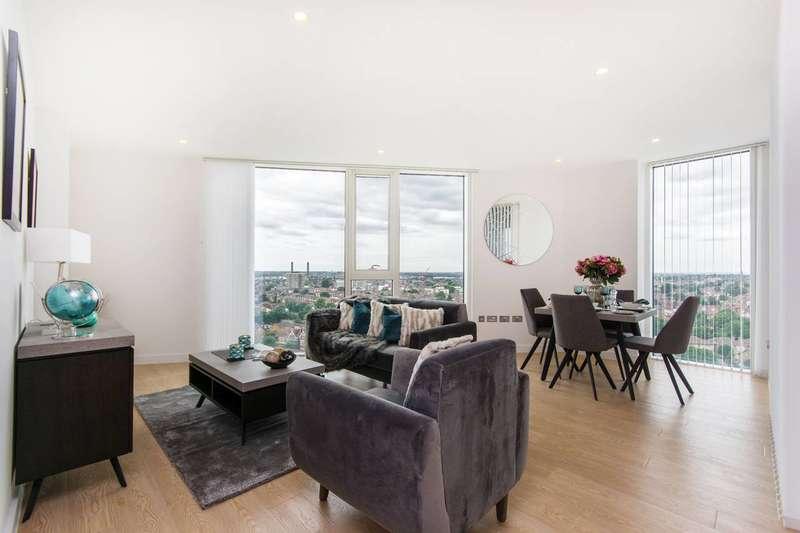 1 Bedroom Flat for sale in Newgate Tower, Croydon, CR0