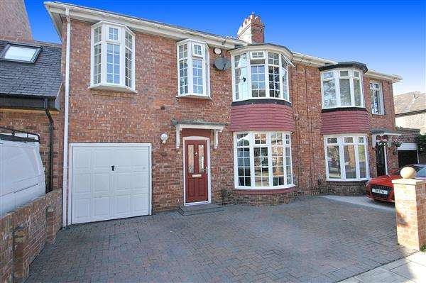 4 Bedrooms Semi Detached House for sale in Walwick Road, South Wellfield