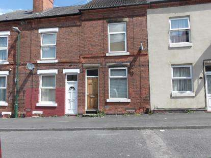 2 Bedrooms Terraced House for sale in Monsall Street, Basford, Nottinghamshire