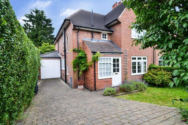 3 Bedrooms Semi Detached House for sale in Middle Park Road, Bournville Village Trust, Selly Oak