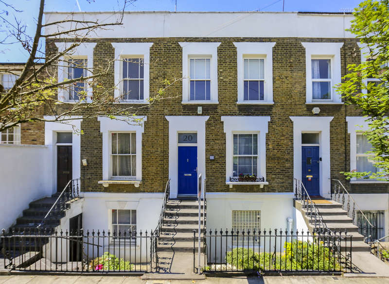 3 Bedrooms Terraced House for sale in Wolsey Road, N1 4QH