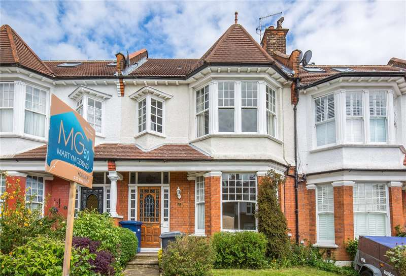 3 Bedrooms Terraced House for sale in Woodlands Avenue, Finchley, London, N3