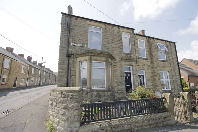 4 Bedrooms Semi Detached House for sale in Watling Street, Leadgate, Consett, DH8