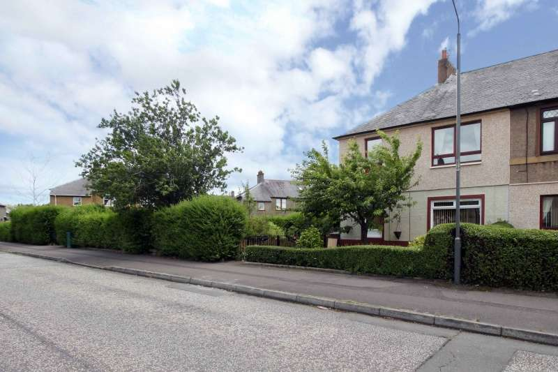 2 Bedrooms Ground Flat for sale in Almond Street, Grangemouth, Falkirk, FK3 8LU