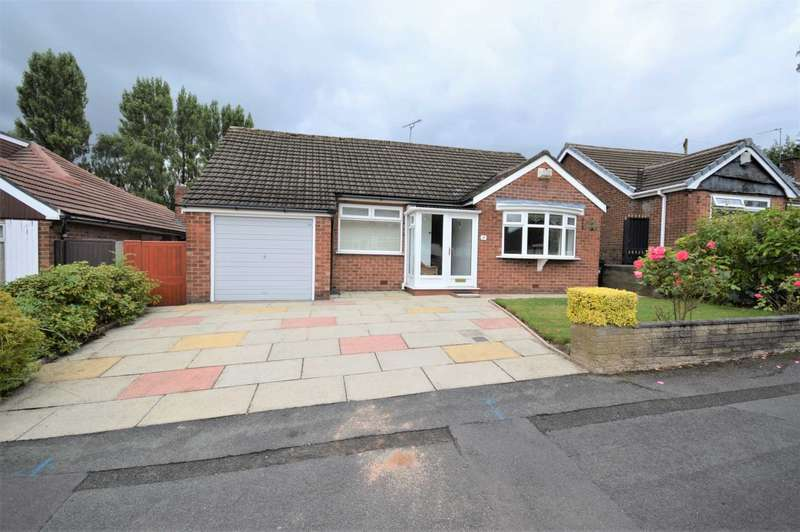 2 Bedrooms Detached Bungalow for sale in Braemar Road, Hazel Grove