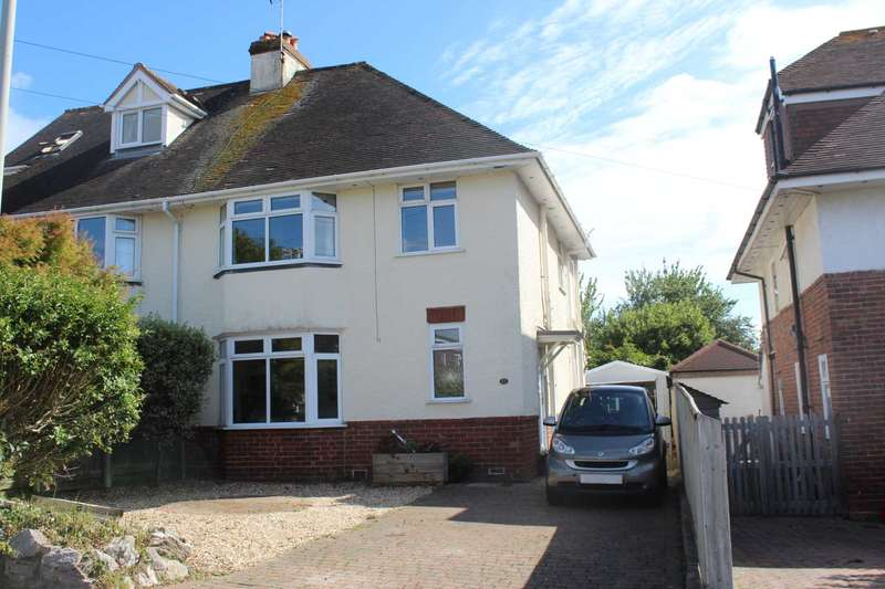 3 Bedrooms Semi Detached House for sale in Beechway, Exmouth