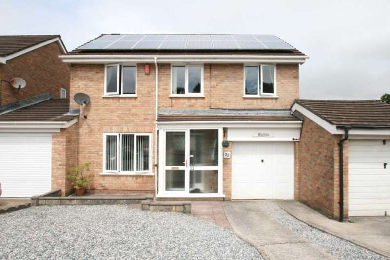 4 Bedrooms Link Detached House for sale in Kenmare Drive, Plymouth