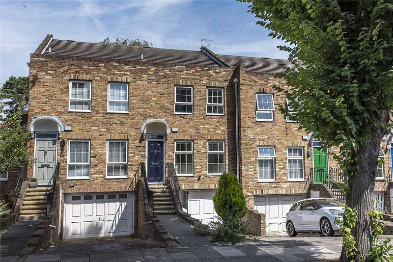 4 Bedrooms Terraced House for sale in Waldegrave Park, Strawberry Hill, TW1
