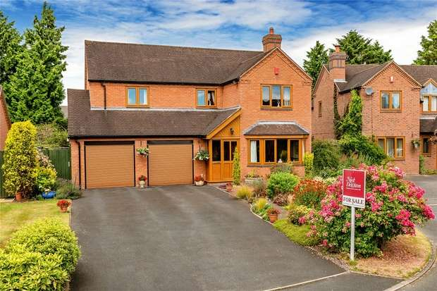 4 Bedrooms Detached House for sale in 7 Manor Close, Hinstock, Market Drayton, Shropshire