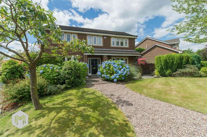 4 Bedrooms Detached House for sale in Dentdale Close, Lostock, Bolton