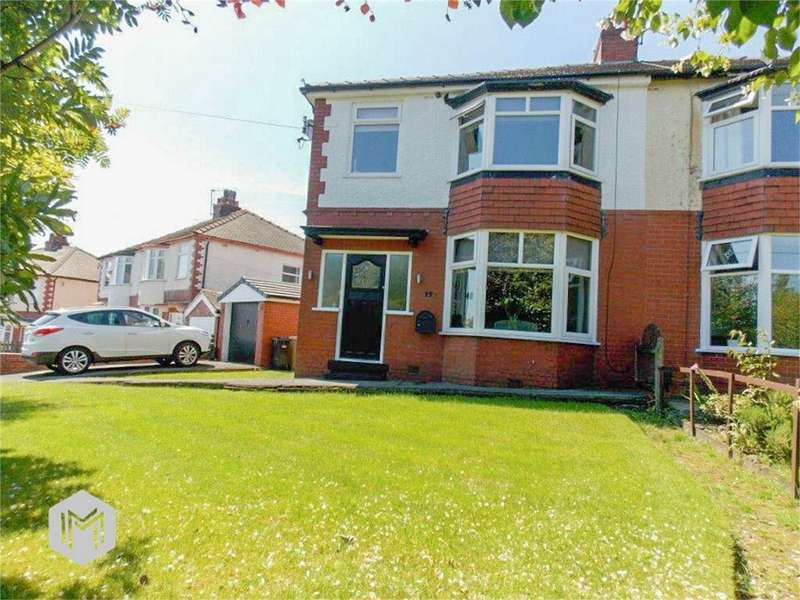 3 Bedrooms Semi Detached House for sale in Chelford Avenue, Sharples, Bolton, Lancashire