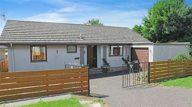 3 Bedrooms Detached Bungalow for sale in Bank Street, Greenlaw, Duns, Scottish Borders