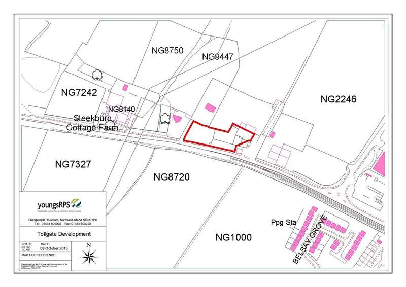 Land Commercial for sale in Barrington Road, Bedlington