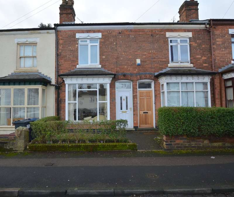 2 Bedrooms Terraced House for sale in Station Road, Harborne
