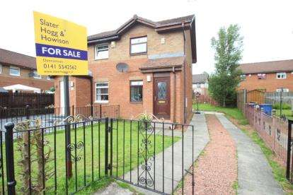 2 Bedrooms Semi Detached House for sale in Tillycairn Place, Glasgow