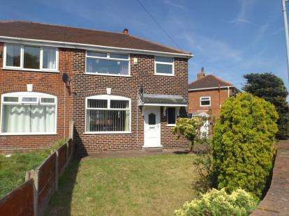 3 Bedrooms Semi Detached House for sale in Leyland Avenue, Irlam, Manchester, Greater Manchester