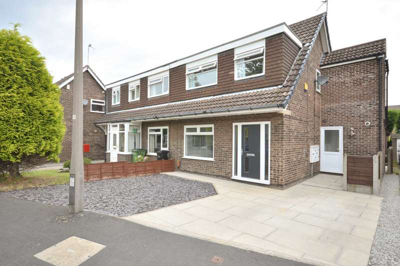 3 Bedrooms Semi Detached House for sale in HENDHAM CLOSE, Hazel Grove (Bramhall Border)