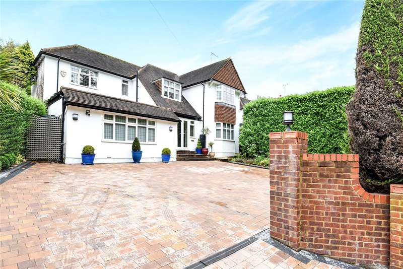 5 Bedrooms Detached House for sale in Hempstead Road, Watford, Hertfordshire, WD17