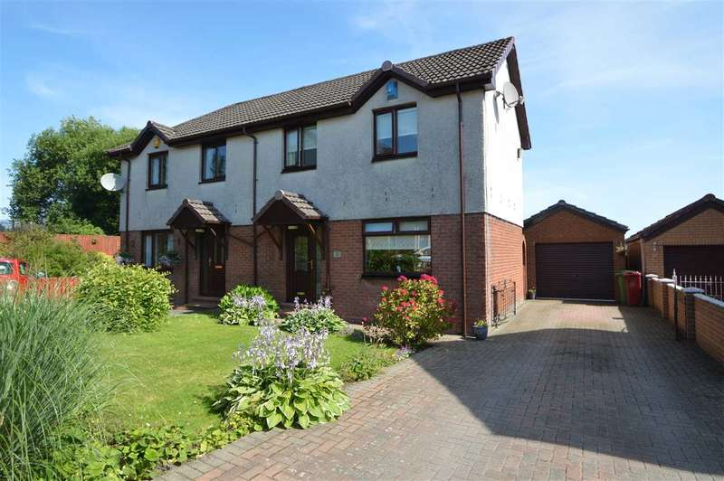 3 Bedrooms Semi Detached House for sale in Welsh Drive, Hamilton