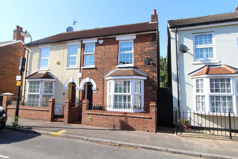 2 Bedrooms Semi Detached House for sale in Kendall Road, New Town, Colchester
