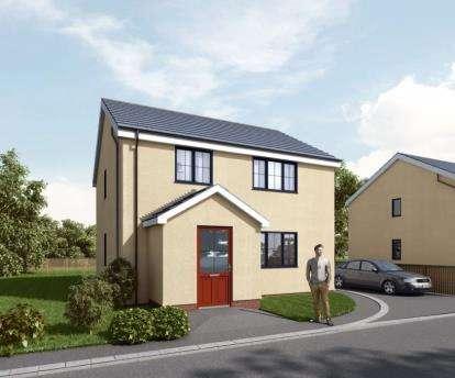 3 Bedrooms Detached House for sale in Fron Deg, Rhostryfan, LL54