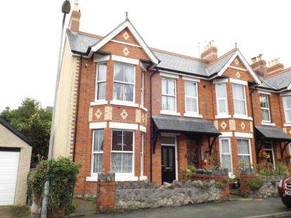 4 Bedrooms End Of Terrace House for sale in Erskine Road, Colwyn Bay, Conwy, LL29