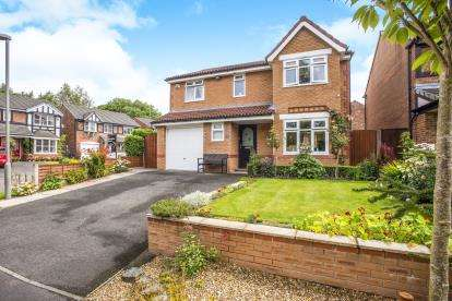 4 Bedrooms Detached House for sale in Meadow Vale, Leyland, Lancashire, ., PR26