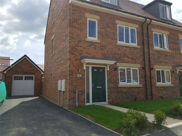 3 Bedrooms Semi Detached House for sale in *The Benedict Plot 45 - SOUTH FACING*, Eden Field, Newton Aycliffe, Durham
