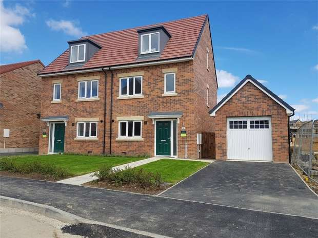 3 Bedrooms Semi Detached House for sale in *Plot 53 - The Benedict*, Eden Field, Newton Aycliffe, Durham