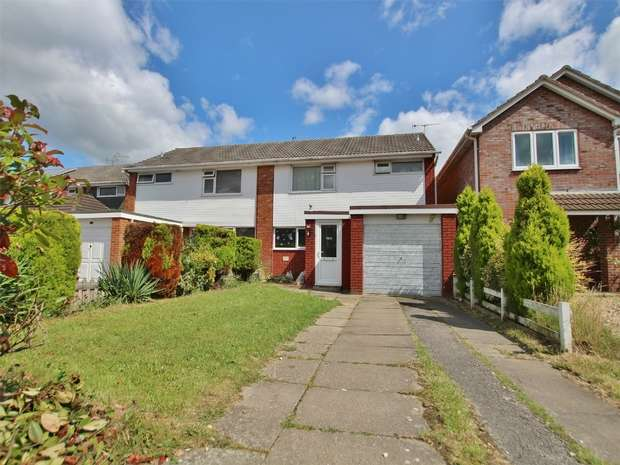 3 Bedrooms Semi Detached House for sale in Bailey Crescent, Oakdale, POOLE, Dorset