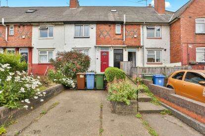 3 Bedrooms Terraced House for sale in Chesterfield Road North, Mansfield, Nottinghamshire