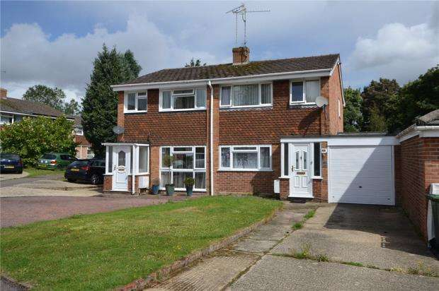 3 Bedrooms Semi Detached House for sale in Stratton Road, Basingstoke, Hampshire