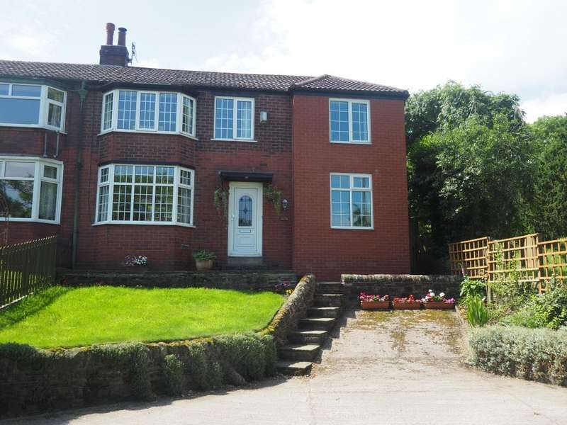 4 Bedrooms Semi Detached House for sale in New Mills Road, Hayfield, High Peak, Derbyshire, SK22 2EX