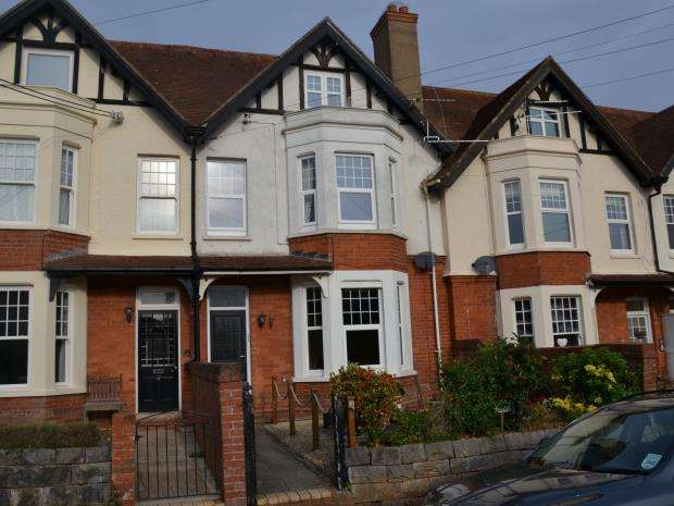 3 Bedrooms Maisonette Flat for sale in Copplestone Road, Budleigh Salterton, Devon