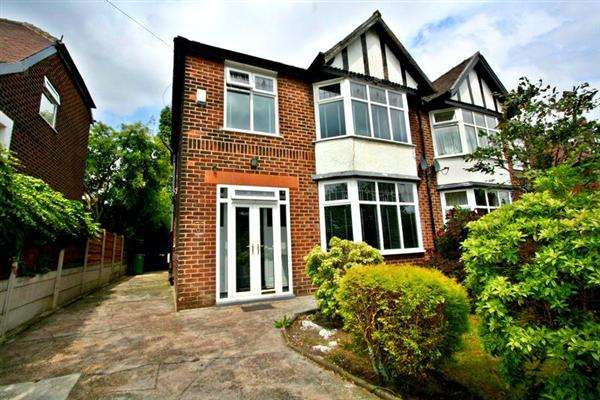 3 Bedrooms Semi Detached House for rent in St Marys Rd, Prestwich