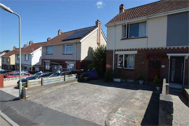 3 Bedrooms Semi Detached House for sale in Jubilee Road, Newton Abbot, Devon. TQ12 1LB
