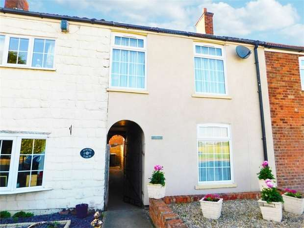 2 Bedrooms Terraced House for sale in Thoresby Road, North Cotes, Grimsby, Lincolnshire