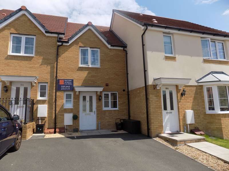 2 Bedrooms Terraced House for sale in Wood Green, Cefn Glas, Bridgend. CF31 4DY