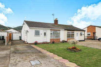 2 Bedrooms Bungalow for sale in Troon Way, Abergele, Clwyd, LL22