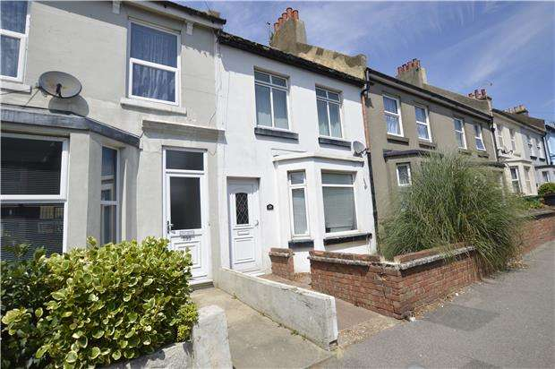 2 Bedrooms Terraced House for sale in Priory Road, HASTINGS, East Sussex, TN34 3NW