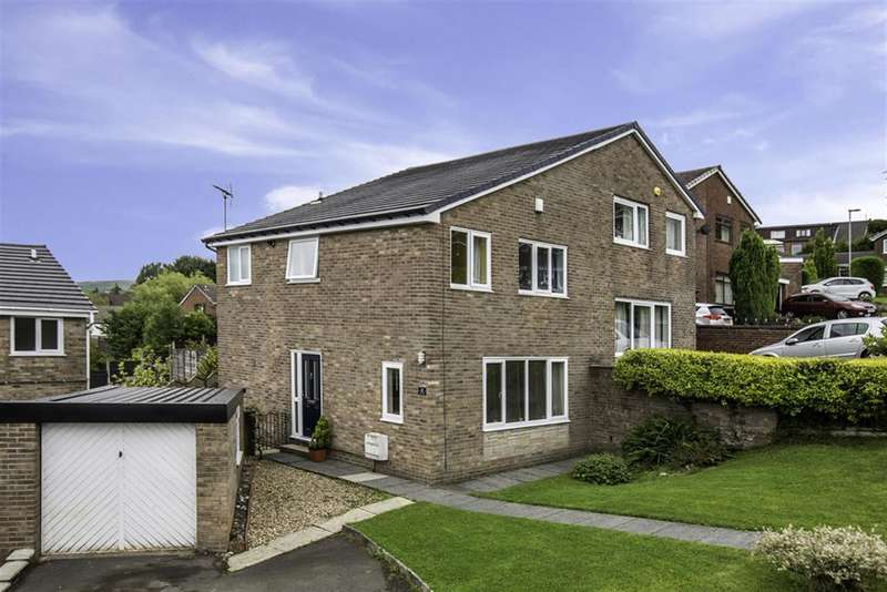 3 Bedrooms Semi Detached House for sale in Wordsworth Crescent, Smithy Bridge, Littleborough, OL15 0RB