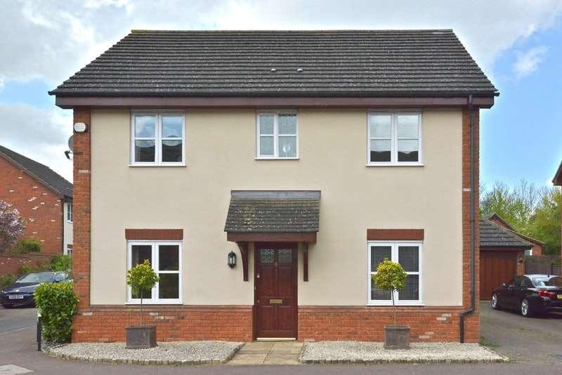 4 Bedrooms Detached House for sale in Garwood crescent, Milton Keynes, Buckinghamshire, MK8