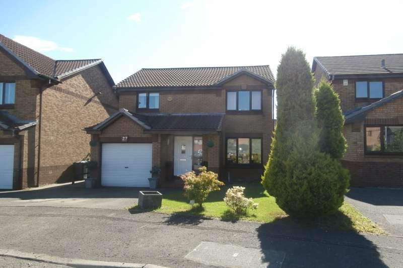 3 Bedrooms Detached House for sale in Cathkin Crescent, Carrickstone, Cumbernauld, G68