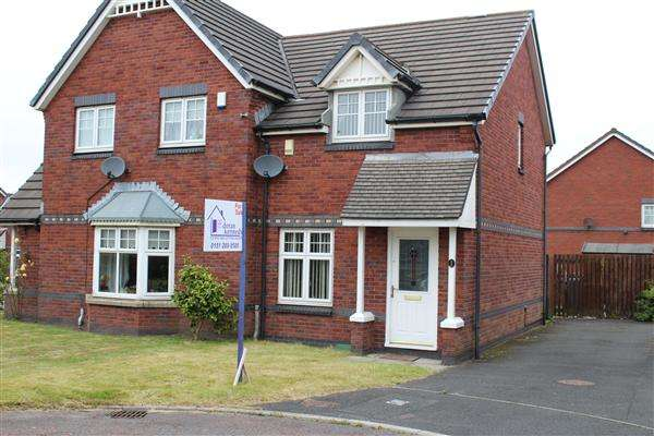2 Bedrooms Semi Detached House for sale in Bellis Grove, Kirkby