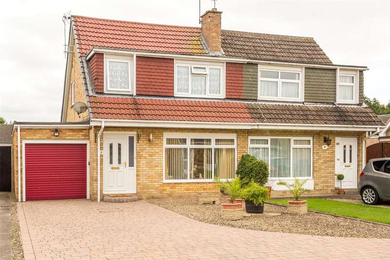 3 Bedrooms Semi Detached House for sale in Foxton, York, YO24