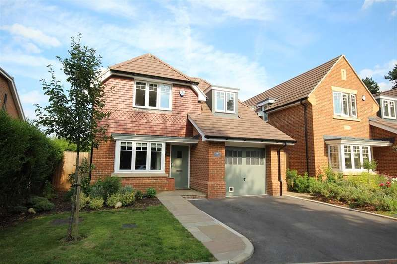 4 Bedrooms Detached House for sale in Stephenson Close, Twyford, RG10